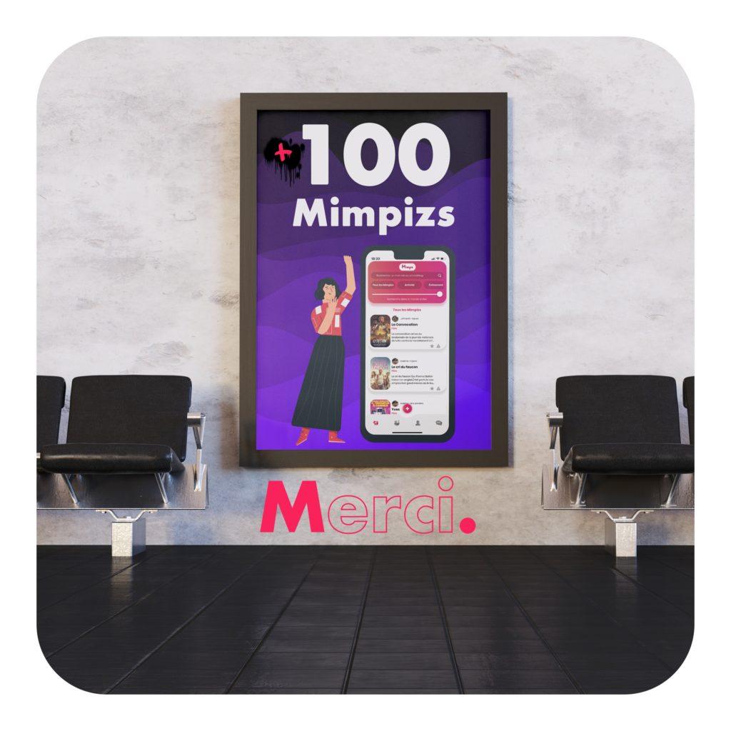 On a dépassé les 100 Mimpizs !